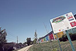 Monon Love Train, Sign